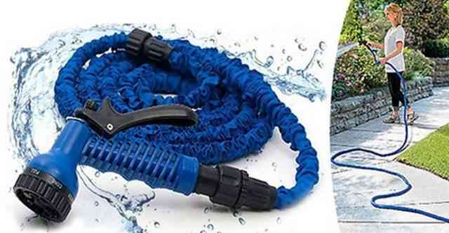 Эластичный стрейч шланг для полива мэджик hose