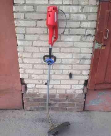 Электрический триммер-газонокосилка castelgarden X