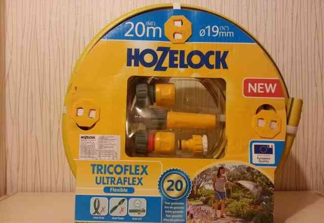 Шланг садовый hozelock Tricoflex Ultrraflex SS 19м