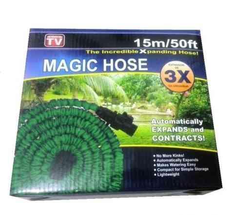 Шланги поливочные растягивающиеся magik hose