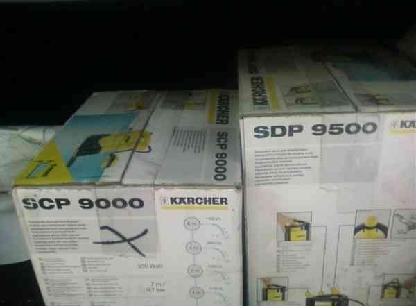 Насос для чистой воды Karcher SCP 9000 / SDP 9500