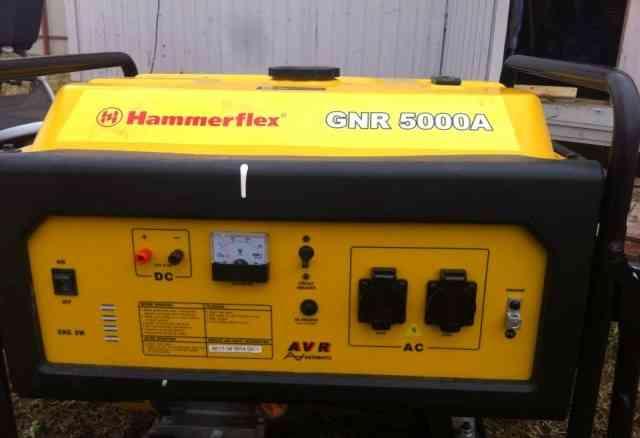 Генератор бензиновый Hammerflex GNR5000A