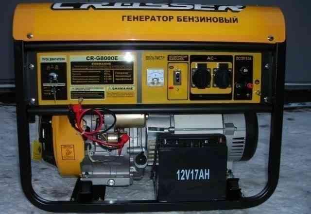 Бензиновый генератор Кроссер CR-G8000E