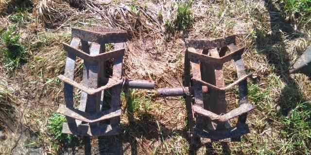 Металические колеса для мотоблока