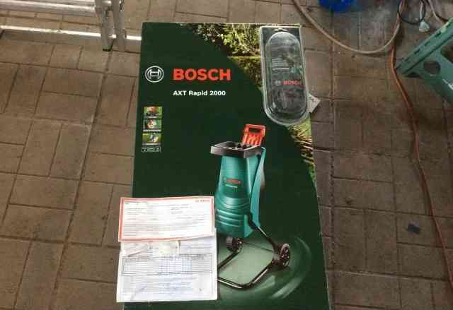 Продаётся садовый измельчитель Bosch
