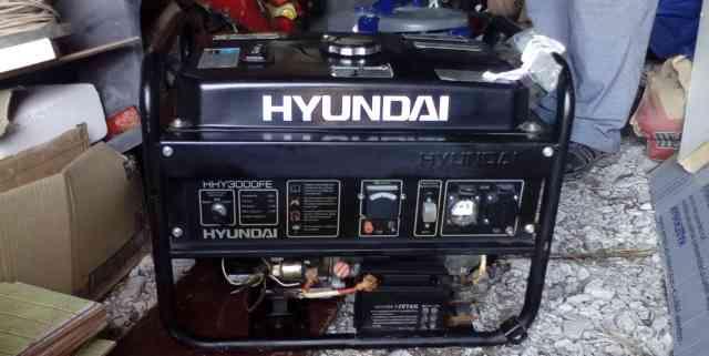 Бензиновый генератор хендэ HHY3000FE