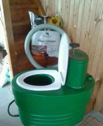Торфяной био туалет