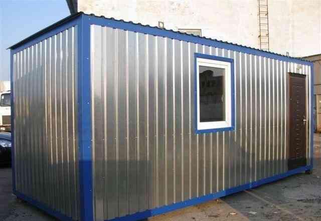 Блок контейнер строительный и дачный