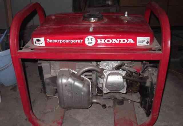 Бензиновый электроогенератор хонда