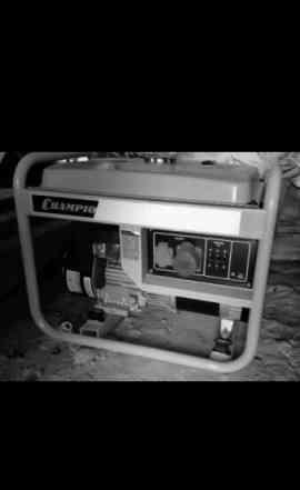 Мотопомпа и генератор