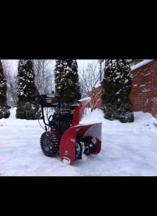 Снегоуборочная машина новая 6 л с
