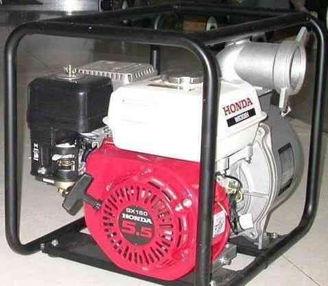 Мотопомпа Хонда GX160 5.5HP Hitachi A160EA