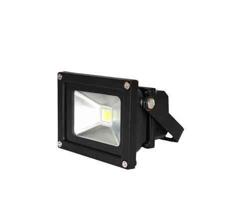 Светодиодный прожектор 10W серый / черный