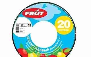 Шланг садовый frut 3/4 20 м зеленый 402034