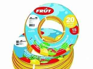 Шланг садовый frut 1/2 20 м желто-красный 402038