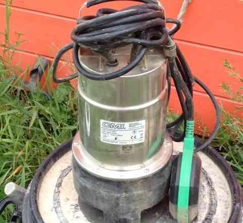 Насос для грязной воды CMI 550 Inox