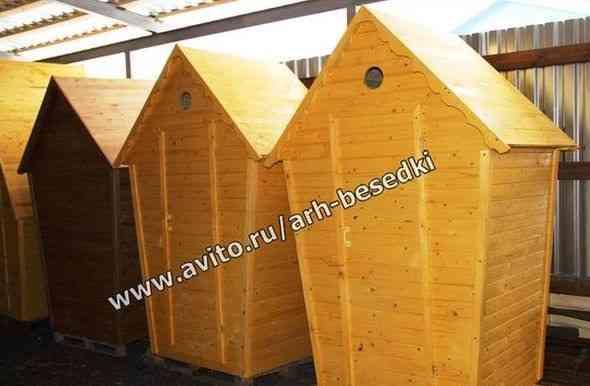 Туалет, туалет деревянный Артикул 1303 в наличии