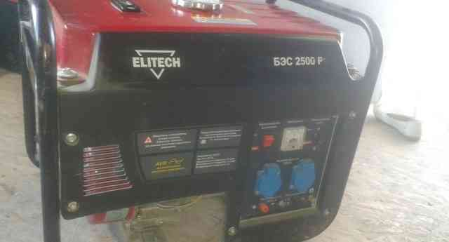 Elitech бэс 2500 Р Электрогенератор