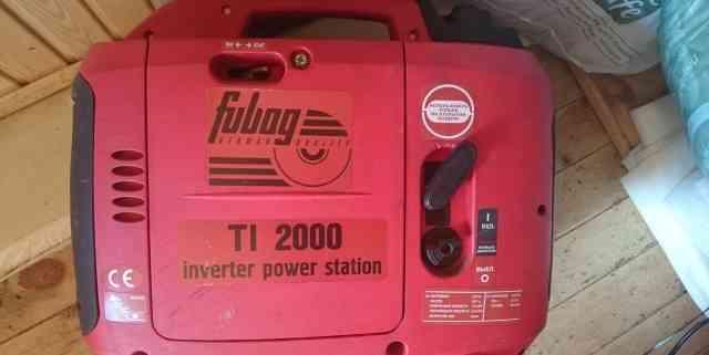 Генератор Электростанция бензиновая fubag TI 2000