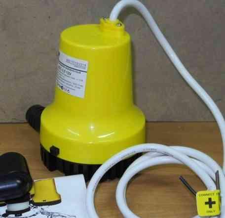 Насос низковольтный питание 12 вольт, Q 3500л/ч